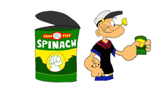 The Famous Can of Spinach by SammyD-Productions