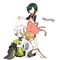 [Render #99] Kagerou Project by sandrareina