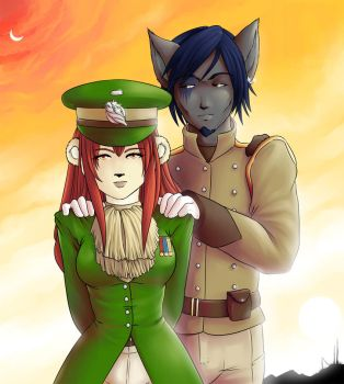 FA Commission: Lily and Aidan by Zirconia