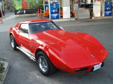 Big Red Corvette VII by Neville6000