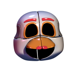 FFPS - Funtime Chica Wip 1 by Bantranic