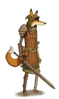 Fox lady by mcnostril