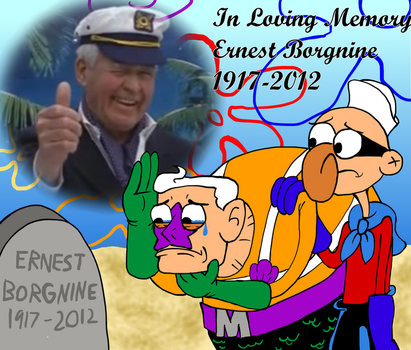Goodbye Ernest Borgnine by Code-E