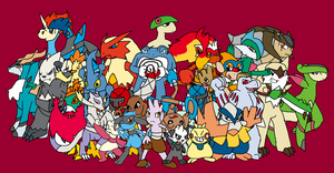 All Time favorite Pokemon-Fighting