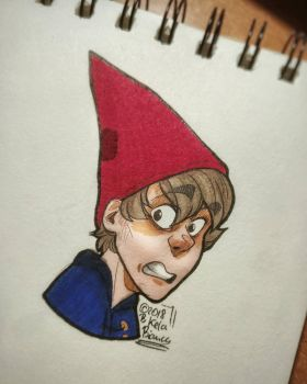 Over the garden wall - Wirt by BiaKela