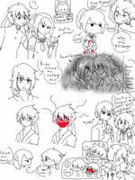 Doodles Ayando Again and again by JustRegularDoodles