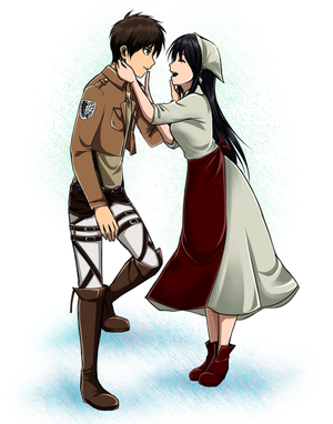 My Sister is the Lost Squad Leader (Eren x Reader) by Vhenyfire on