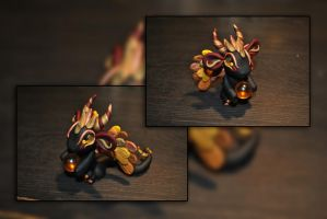 Autumn Orb Dragon by KirstenBerryCrafts