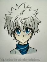 Killua! by MauiCatgirl