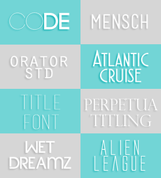 Font pack by yeahsource by oursheartsps