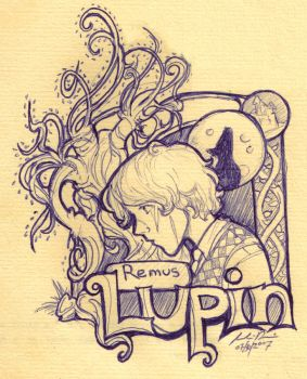 Remus Lupin by Lupis-Fox
