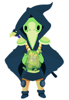 Plague Knight by KyzaCreations