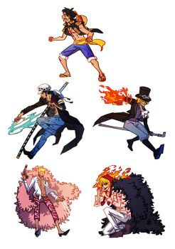 Some one piece charms by Serain
