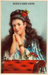 Victorian Advertising - Unrivalled Hair by Yesterdays-Paper