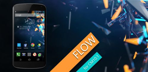 Flow Theme for CM9/10.1 - 2.5 by giannisgx89