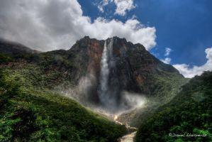 Angel Falls HDR by dllavaneras