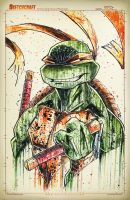 TMNT Saucy Mikey by RobDuenas