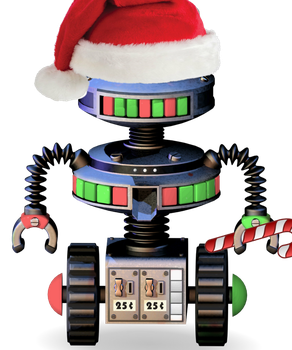 Christmas candy cadet by TotallyArealroBot