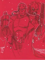 Hellboy by Hodges-Art
