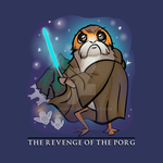 The Revenge of The Porg by luciarts