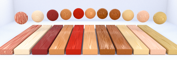 Procedural Wood Material Study by newdeal666