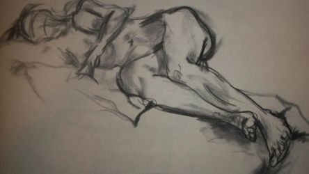Figure Drawing 1 by catsonlylife