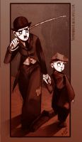 The Tramp and the Kid by MarionetteDolly