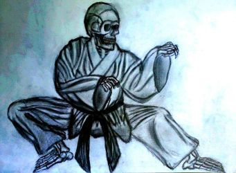 Master Skeleton's Fifth Kung Fu Movement by Old-Sage