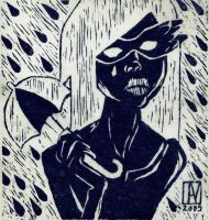 shrink in the rain by yellowpin