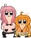 Pop Team Epic but its with Miyaka and Hime by OctoWeeb
