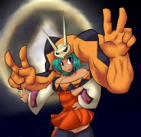 Fan Art: Skullgirls' Cerebella by FlairNightz
