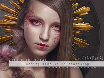 Adding Make Up In Photoshop by kuschelirmel-stock