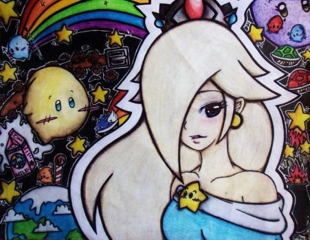 Rosalina - Queen of the Luma's by toegetic