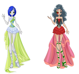 .:WSF May 2017:. Luisa and Rosemary Harmonix by MissPerfect218