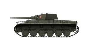 [ARTIST'S IMPRESSION] Medium Tank - 25tp wz. 42 by Escodrion