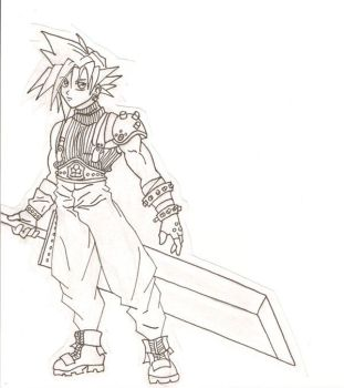 Cloud lineart by tokicandy