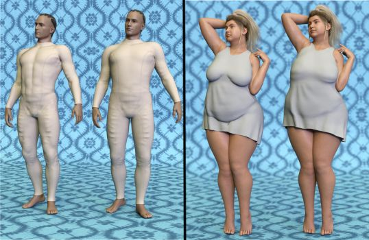 Sneak Preview: SY Supermorphers for Genesis 8 by SickleYield