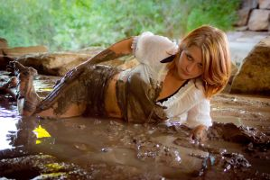 Slytherin Through the Mud VI by DimensionalImages