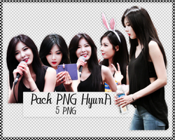 Pack PNG #88: 4Minute's Kim HyunA by jimikwon2518