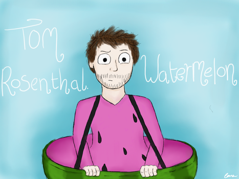 Tom Rosenthal by WolfPawzArt