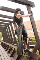 Tifa AC - action pose by ladylucienne