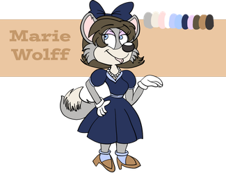 Marie Wolff 2018 Reference Sheet by Fawnadeer