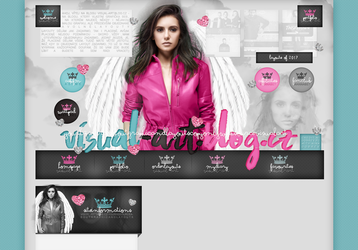 Order Layout ft. Nina Dobrev #71 by BebLikeADirectioner