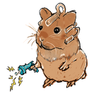 Cybernetic Hamster by JohnKohlepp