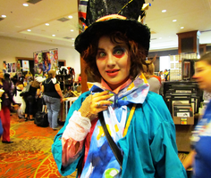 Mad Hatter at A-kon 22 by clockworkcosplay