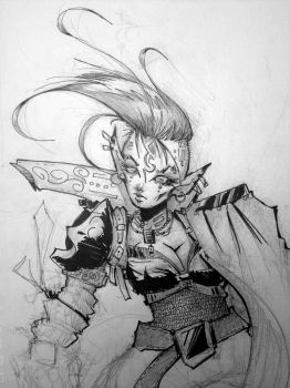 Sketch while at Anime North 2012 by braverazor