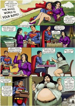 Lois Lane: The World is Your Buffet! by Ray-Norr