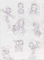 Gonzo doodles by Deltamimi