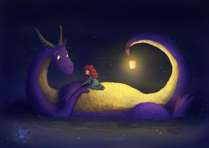 Me and my dragon by tamaraR