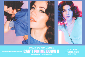 MARINA AND THE DIAMONDS - CANT PIN ME DOWN PACK 2 by LittleDr3ams
